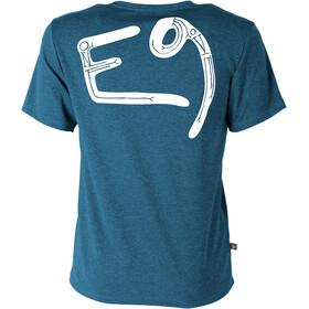 E9 Onemove t-shirt Heren blauw